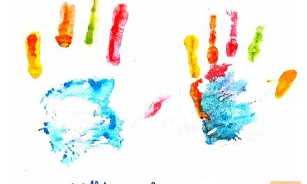 Imaginative art with Fingerprints