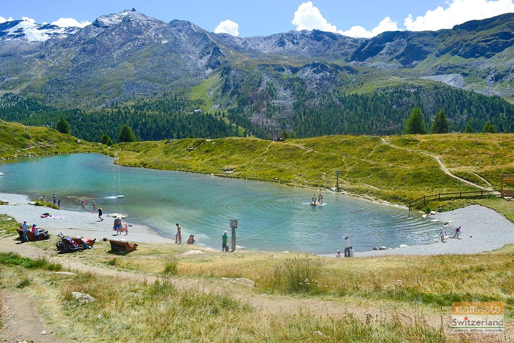 Wolli's adventure park at Sunnega, Zermatt