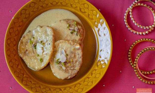 Malpua and Rabdi – for a sweeter Holi