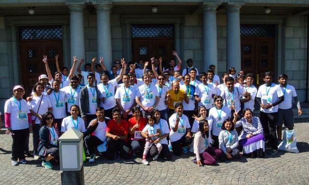 'We run so they can read' – Team Asha in the Zurich Marathon