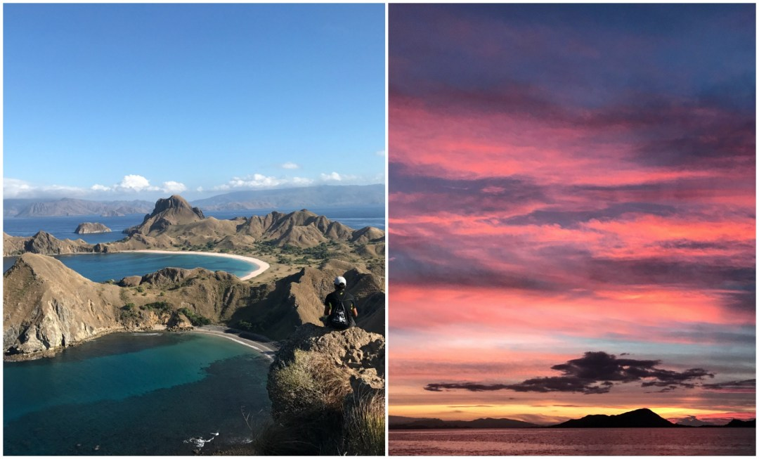 Indonesia Padar Island and Flores Sea
