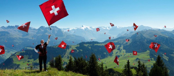 Celebrating the Swiss National Day