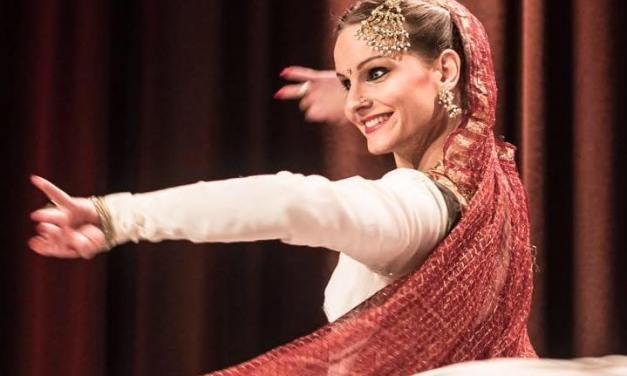 Swiss Kathak dancer – Priscilla Brülhart