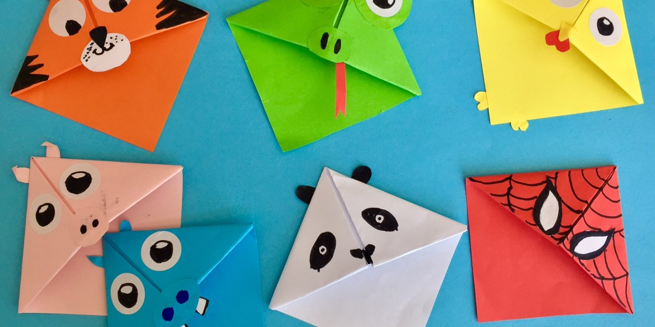 DIY Bookmarks with your kids, make reading more fun!