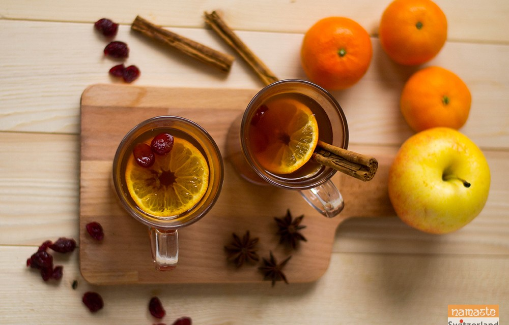 Mulled Apple Drink – A kid-friendly version