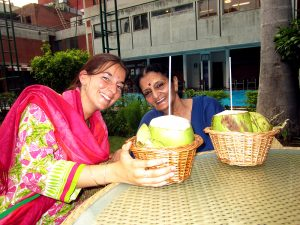 Photo of Annjali with Sandhya Desai