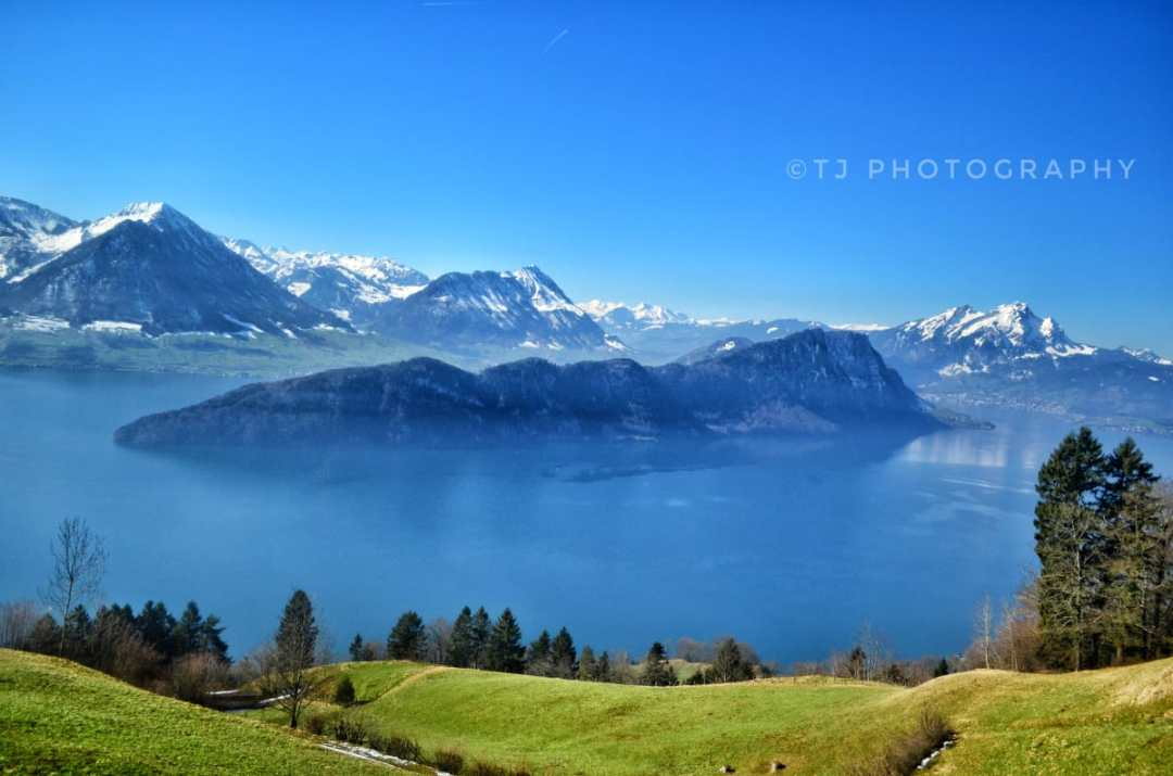 Lake Lucerne from Mount Rigi