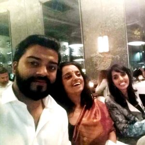 Photo of Aruna Kapoor, Smriti Kapoor and Shrey Kapoor