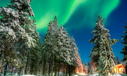 Northern Lights in Lapland