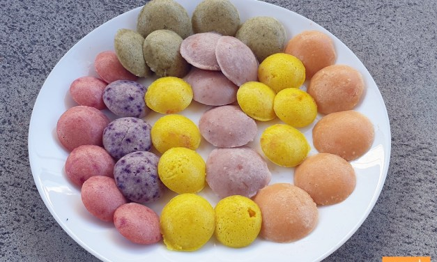 Colourful and Tasty – Mini Idlis