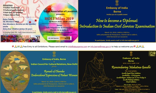 Holi Milan 2019 and Art Exhibitions