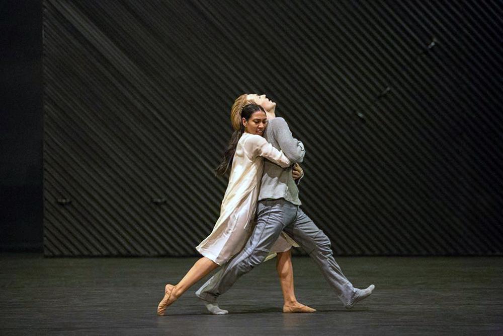 Photo of Matteks interpretation of 'Julia & Romeo' at the Kungliga Operan, Stockholm in 2017, photo by Maryam Barari