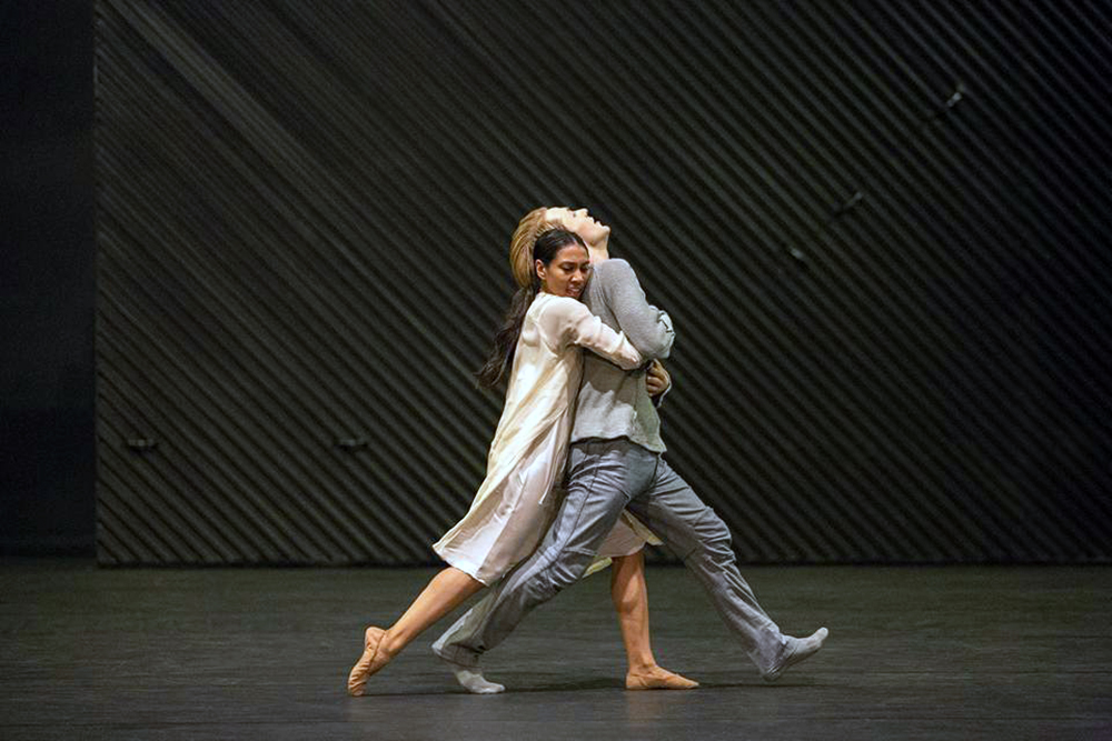Photo of Matteks interpretation of 'Julia & Romeo' at the Kungliga Operan, Stockholm in 2017, photo by Maryam Barari
