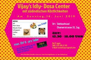 Vijay's Idly-Dosa Center in Zug @ Siehbachsaal