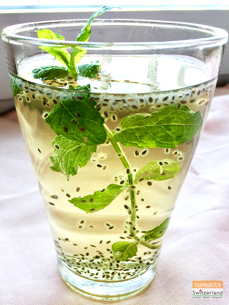 Chia seed summer coolers