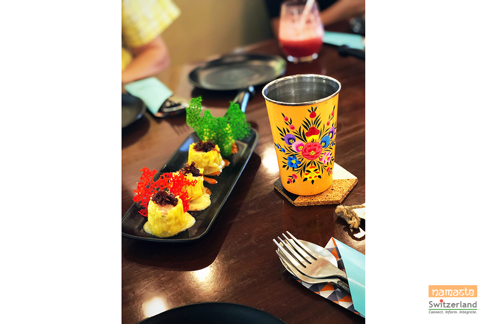 Photo of little.BIG breakfree crockery and delicious menu for adults and kids