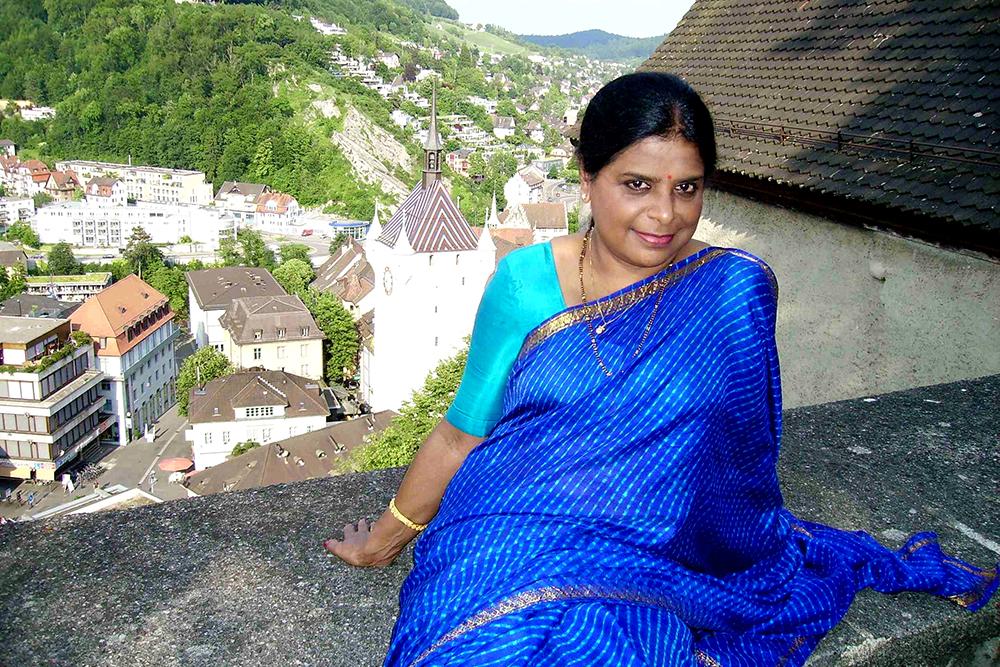 Photo of Vijaya Rao on top of Baden