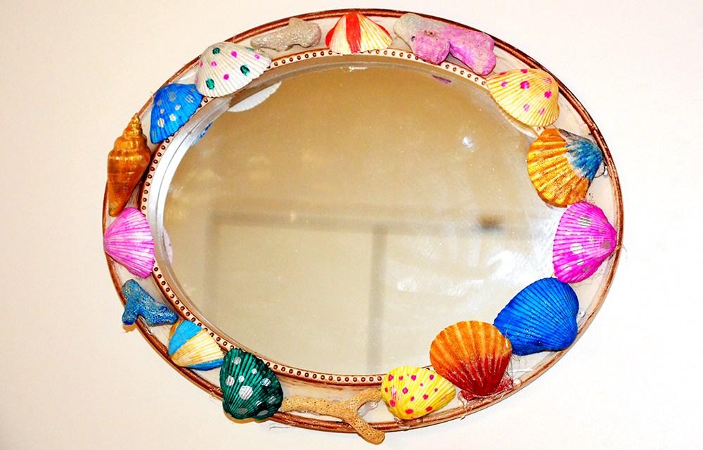 DIY art with Shells