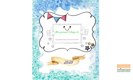 New year – 2020 Journal for kids