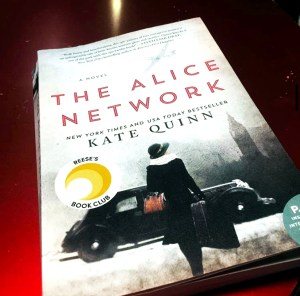 Book cover of The Alice Network - Kate Quinn