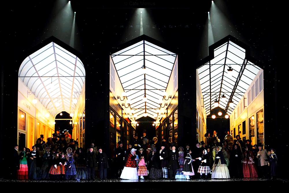 Photo of La Bohème! aired online on the Royal Opera House (ROH) website