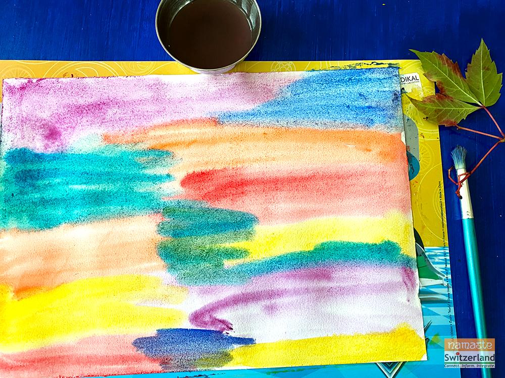 Photo of DIY #1: Paint, press and peel