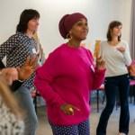 Let's get moving with Bewegte Femmes-Tische