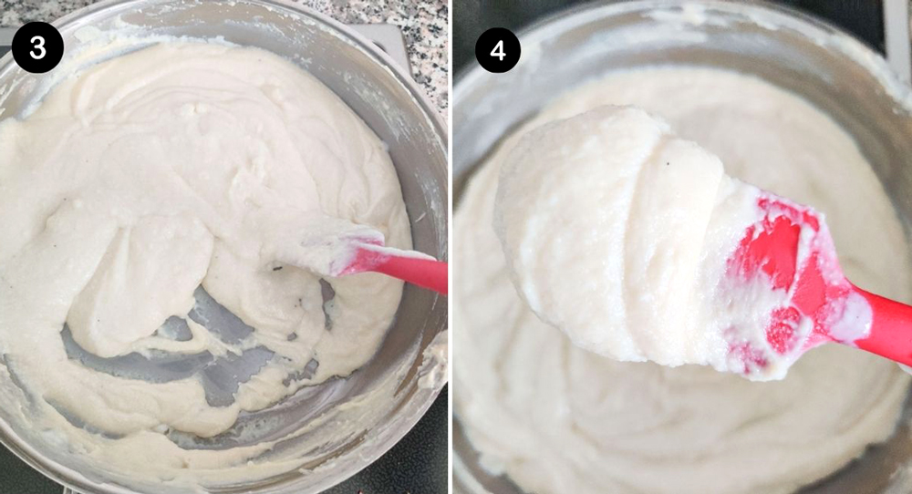 Photo of Kalakand Recipe Step 3 and 4