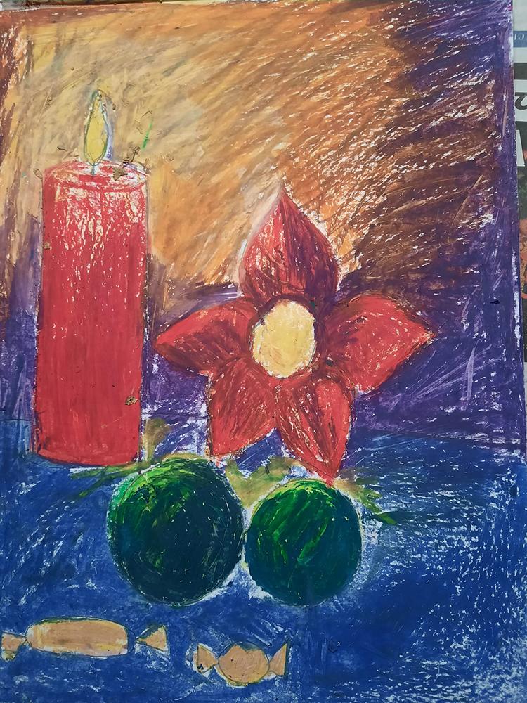 Painting by Avantika Bhar 9 years old