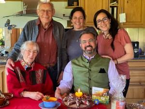 Photo of Nik Gugger's family