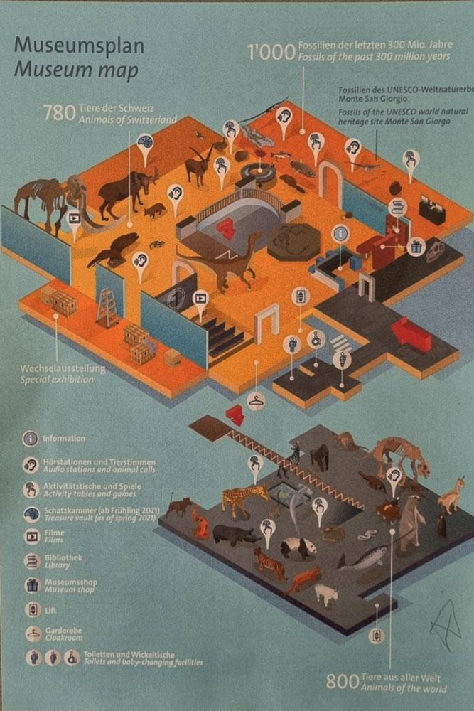 paleantology-museum-map