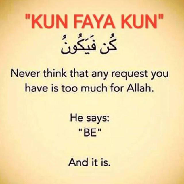 Kun Faya Kun Meaning