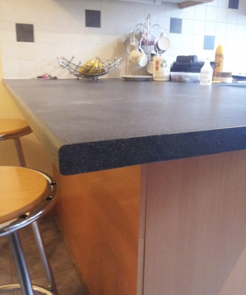 worktop edging strip chip repairs