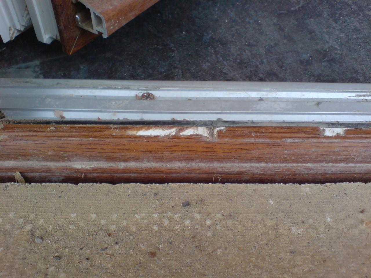DOOR REPAIR & Plastic UPVC Door Window Frame Sill Repairs - Namco Refurbs