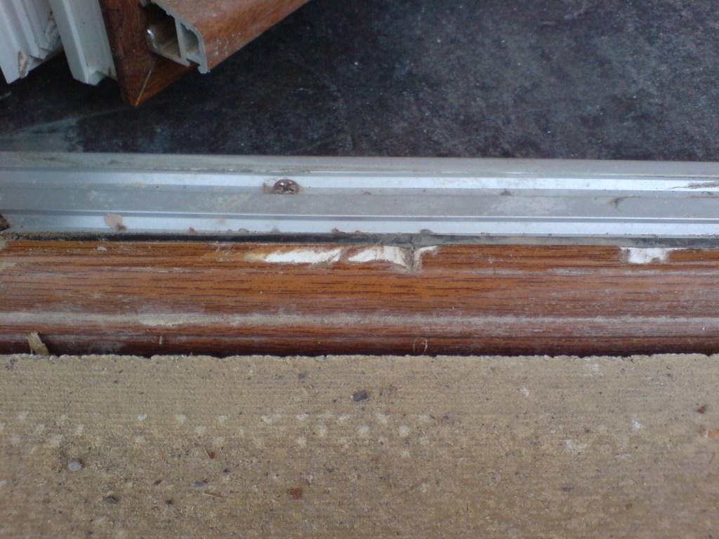 Plastic upvc door window frame sill repairs namco refurbs for Upvc window repairs
