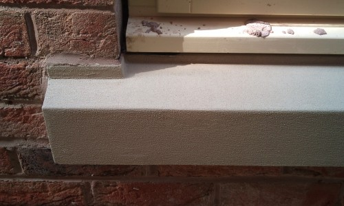 CHIPPED STONE SILL