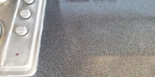 worktop pan burn and heat blister repairs