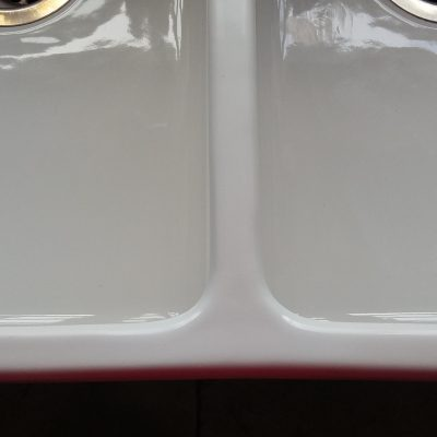 CHIPPED BELFAST SINT REPAIR PORCELAIN CERAMIC SINK REPAIR