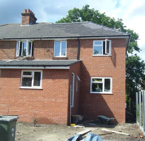LARGE EXTENSION HOUSE BUILDER HALE ALTRINCHAM BOWDEN KNUTSFORD