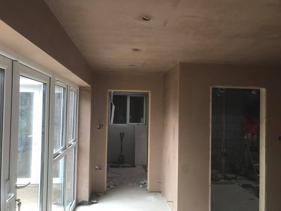 PLASTERER PLASTER BOARDING HOUSE EXTENSION ALTRINCHAM BOWDEN HALE MERE LYMM HIGH LEGH KNUTSFORD WARRINGTON AFTER