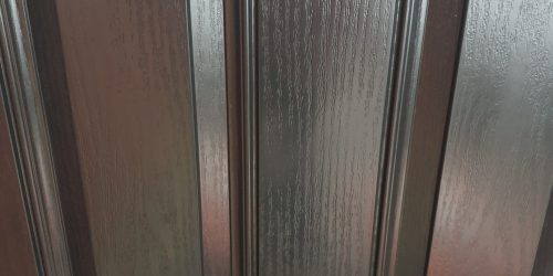 BADLY SCRATCHED COMPOSITE DOOR REPAIR AFTER