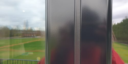 BADLY SCRATCHED BI FOLD DOOR FRAME REPAIRS AFTER 1
