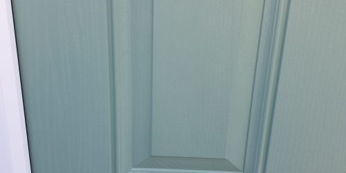 STAIN ON COMPOSITE DOOR SCRATCH CHIP REPAIR AFTER 1