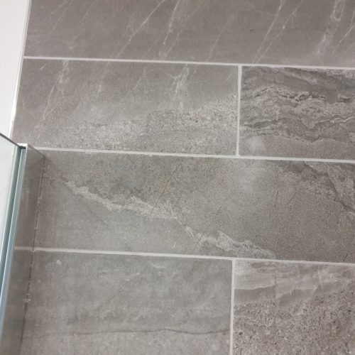 SCREW HOLE BATHROOM TILE REPAIR SHOWER SCREEN AFTER MANCHESTER