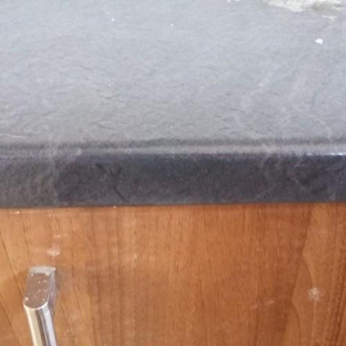 CHIP SCRATCH PAN BURN HEAT BLISTER KITCHEN WORKTOP REPAIR AFTER