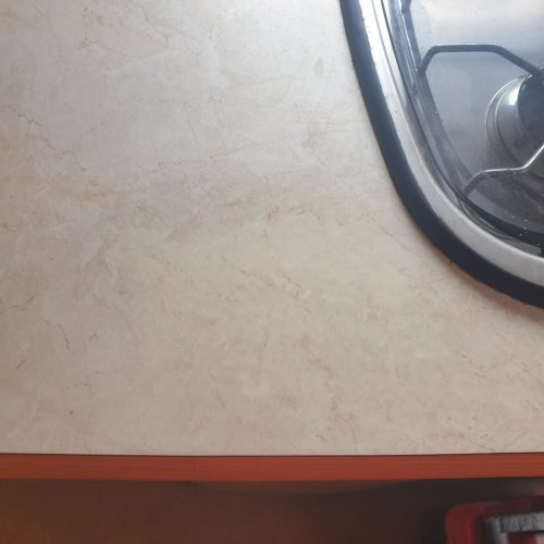 CARAVAN MOTOR HOME WORKTOP DENT CHIP SCRATCH REPAIR REFURBISHMENT AFTER