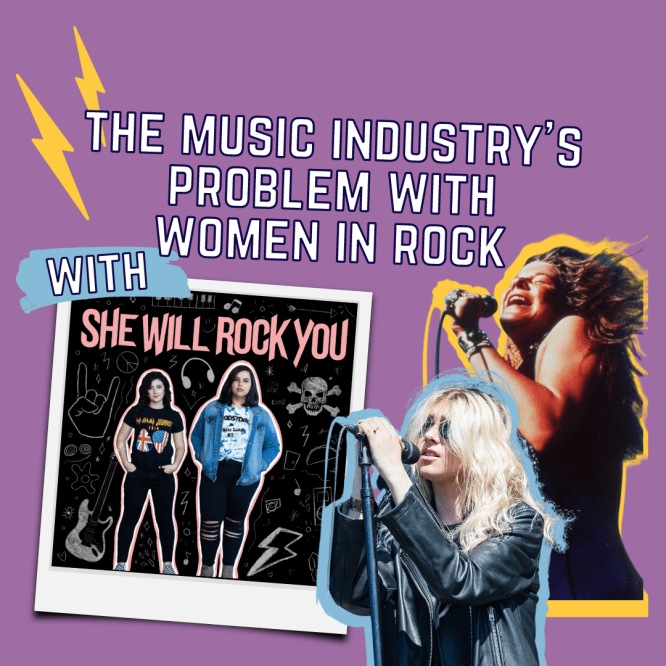 The Music Industry's Problem with Women in Rock