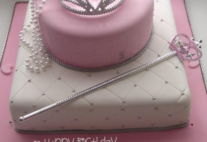 Make Birthday Cake For Girl Princess With Name
