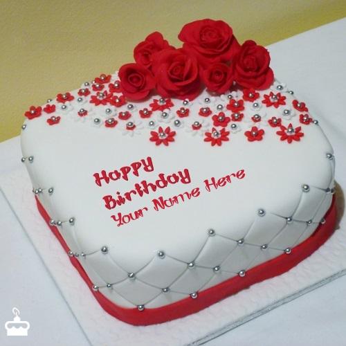Happy Birthday Cake Pic Name