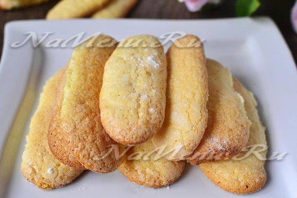 Печенье Савоярди: рецепт классический в домашних условиях ...